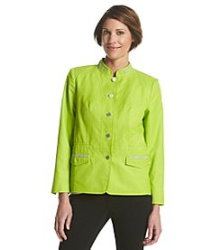 Laura Ashley® Petites' Beaded Trim Jacket