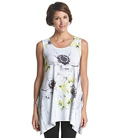 Laura Ashley® Petites' Daisy Print Tunic