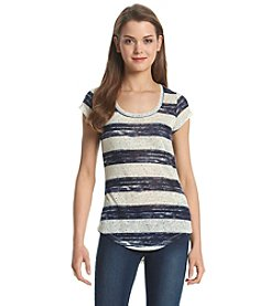 Wallflower® Paintbrush Stripe Top