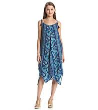 Be Bop Oversized Paisley Dress