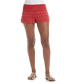 Hippie Laundry Crocheted Shorts