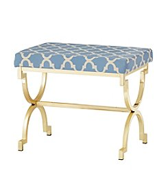 Home Interior Virginia Moroccan Print Stool