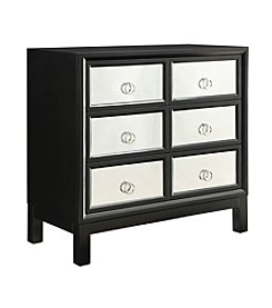 Home Interior Prezia 6-Drawer Mirrored Cabinet