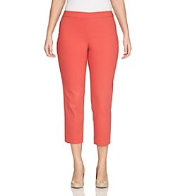 Chaus Courtney Side Zip Crop Pants