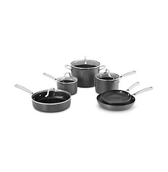 Calphalon Classic Nonstick Hard Anodized 10-pc. Cookware Set