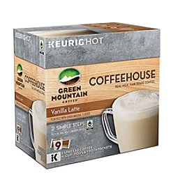 Keurig® Green Mountain Coffee® Coffeehouse Vanilla Latte 9-pk. K-Cup Pods & Froth Packets