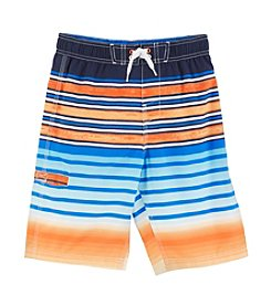 Mambo® Boys' 8-20 Stripe Swim Trunks