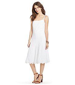 Lauren Jeans Co.® Embroidered Cotton Dress