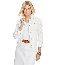 Lauren Jeans Co.® Eyelet Denim Jacket
