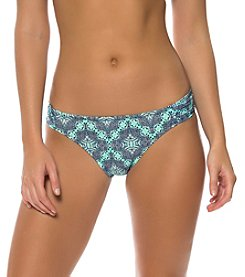 Jessica Simpson Side Shirred Printed Hipster Bottoms