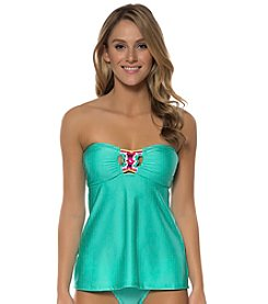 Jessica Simpson Luv Me Knot Bandini Top