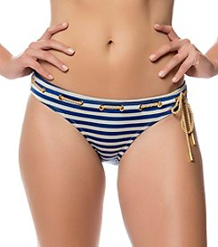 Jessica Simpson Sweet Sailor Striped Classic Hipster Bottom