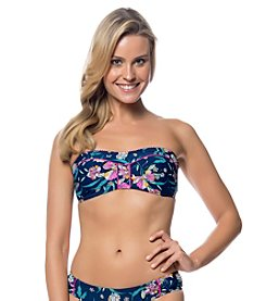 Jessica Simpson Sweet Treat Panel Bandini Top