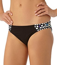 Anne Cole® Petal Power Spliced Bikini Bottom
