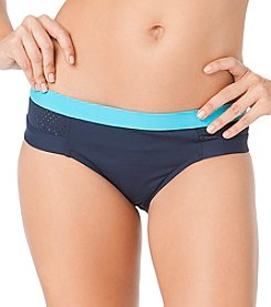 Anne Cole® Laser Dot Banded Hipster Bottom