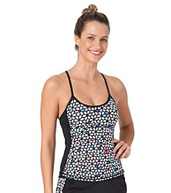 Anne Cole® Petal Power Cross Back Tankini