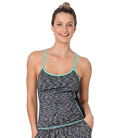Anne Cole® Heather Elastic Cross Back Tankini