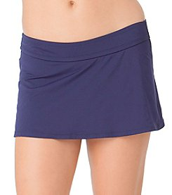 Anne Cole® Solid Rock Swim Skirt