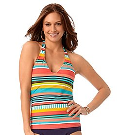 Anne Cole® Tropication Halter Tankini Top