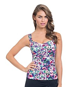 Profile by Gottex® Fuji Tankini Top - D Cup
