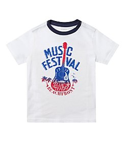 Chaps® Boys' 8-20 Short Sleeve Music Fest Graphic Tee
