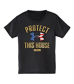 Under Armour® Boys' 4-7 Short Sleeve Protect This House Graphic Tee