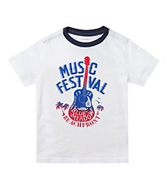 Chaps® Boys' 2T-7 Short Sleeve Music Fest Graphic Tee