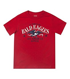 Chaps® Boys' 2T-7 Short Sleeve Eagles Graphic Tee