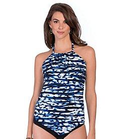 Magicsuit® Blurred Line Nicole Tankini Top