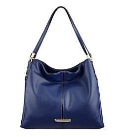 Anne Klein Kick Start Large Pebble Hobo