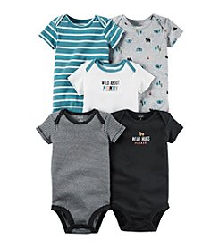 Carter's® Baby Boys' 5-Pack Bear Hugs Bodysuits