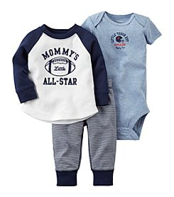 Carter's® Baby Boys 3-Piece Mommy's All Star Set