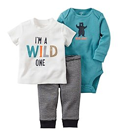 Carter's® Baby Boys 3-Piece Wild One Set