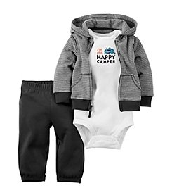 Carter's® Baby Boys 3-Piece Happy Camper Hoodie Set