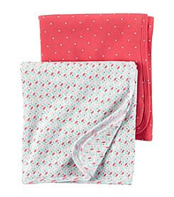 Carter's® Baby Girls' 2-Pack Geo Swaddle Set