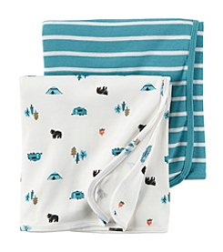 Carter's® Baby Boys 2-Pack Camper Swaddle Set