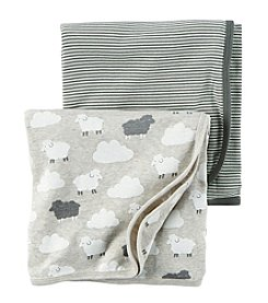 Carter's® Baby 2-Pack Sheep Swaddle Set