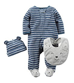 Carter's® Baby Boys 3-Piece Bear Snap Set