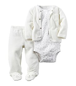 Carter's® Baby 3-Piece Bear Footed Set