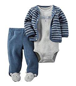 Carter's® Baby Boys 3-Piece Bear Footed Set
