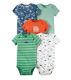 Carter's® Baby Boys 5-Pack Dino Bodysuits