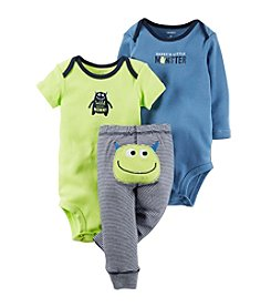 Carter's® Baby Boys 3-Piece Monster Set
