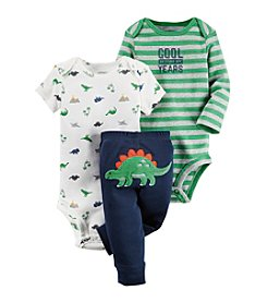 Carter's® Baby Boys 3-Piece Dino Set