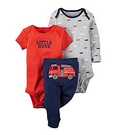 Carter's® Baby Boys 3-Piece Fire Engine Set
