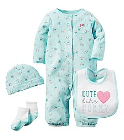 Carter's® Baby Girls' 4-Piece Cute Like Mommy Set
