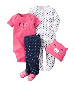 Carter's® Baby Girls' 4-Piece Cat Set