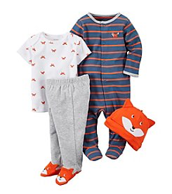 Carter's® Baby Boys 4-Piece Fox Set