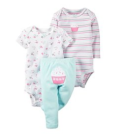 Carter's® Baby Girls' 3-Piece Cupcake Set