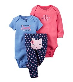 Carter's® Baby Girls' 3-Piece Cat Set