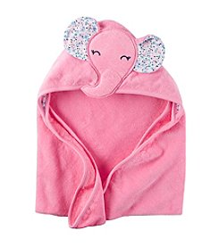 Carter's® Baby Girls' Elephant Hooded Towel